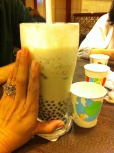 Gigantic Bubble tea