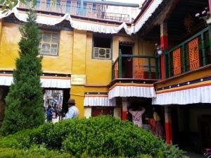 Nepalese restaurant in Lhasa
