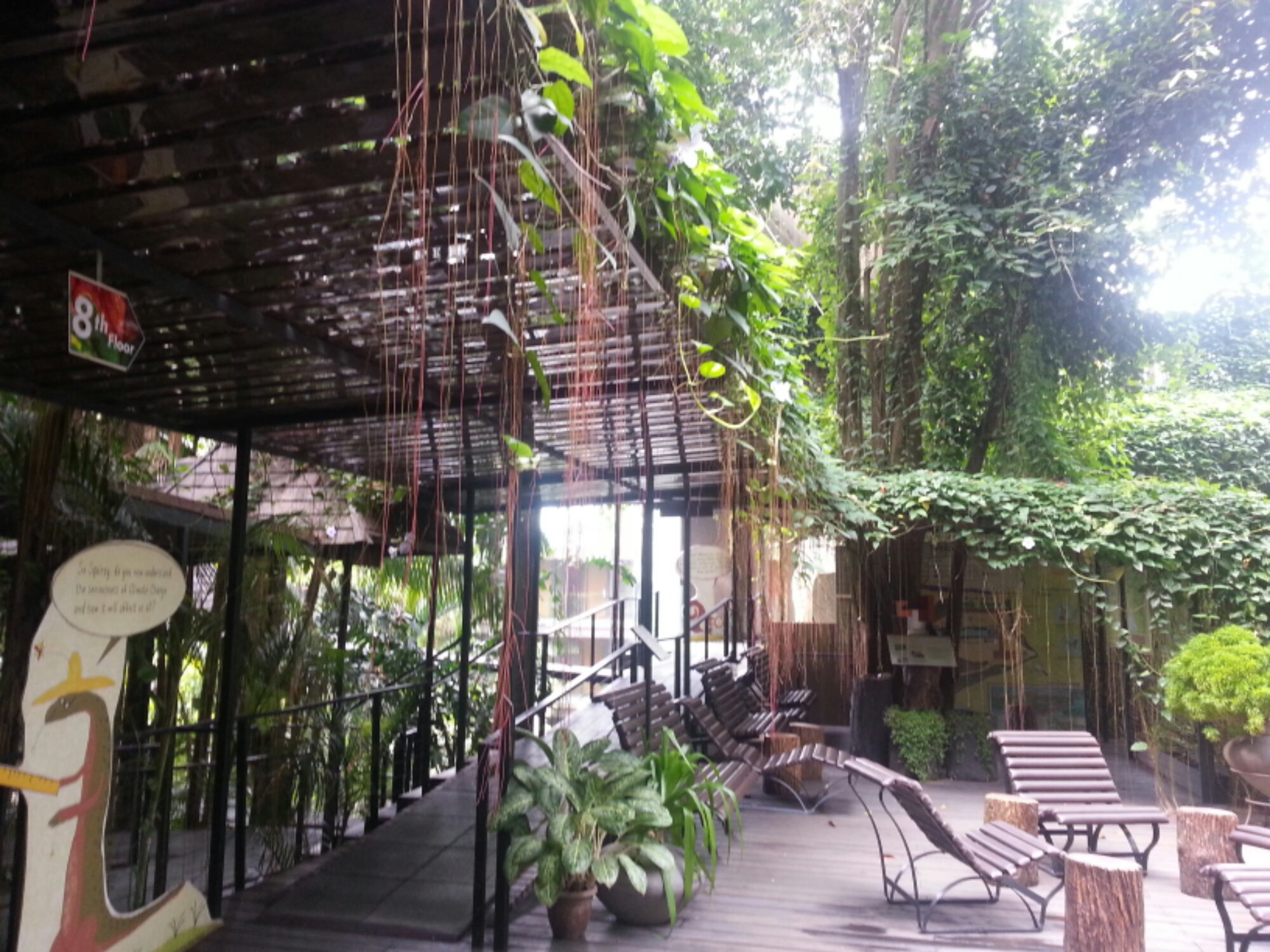Wormery at siloso beach resort an eco hotel pot gardening - Siloso beach resort swimming pool ...