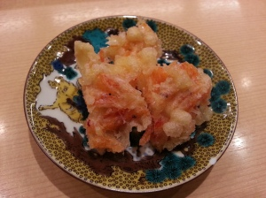 Tempura - deep fried