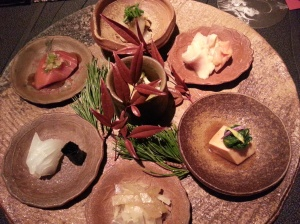 Kaiseki at Ryugin