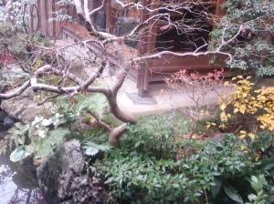 Zen garden at Hyotei