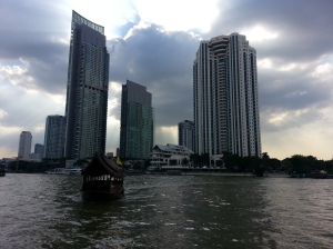 Free ferry shuttle and spectacular view of the Chao Praya river from Mandarin Oriental