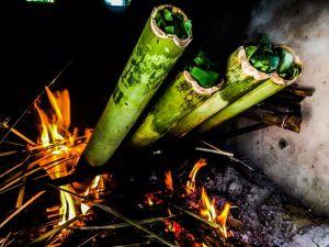 Bamboo lamang rice