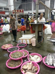 Wholesale fish market in Jurong