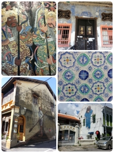 Wall murals all around Georgetown