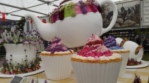 Tea-party theme at Chelsea flower show